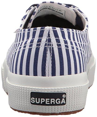 Sneaker 2750 Fabricshirtu Superga Women's Navy wvSttPWq