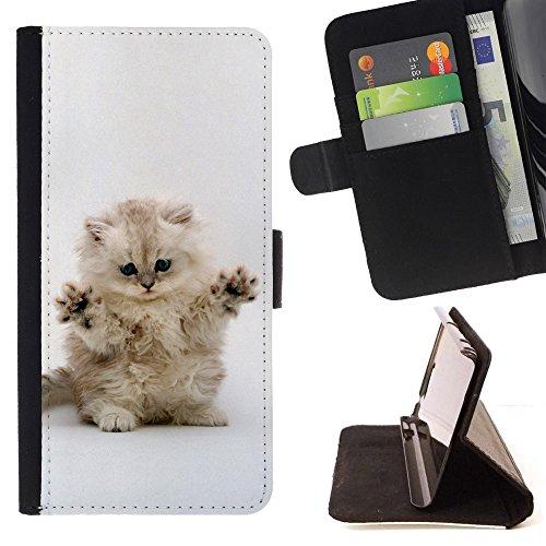 STPlus Gato en una caja Animal Monedero Carcasa Funda para Samsung Galaxy A5 (2017) #24