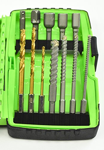 Greenlee DDKIT-1-68 Electrician's Drill Driver Bit Kit, 68-Piece by Greenlee (Image #5)