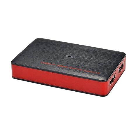 Nrpfell Tarjeta de Captura de Juegos HDMI USB 3.0 HD Video ...