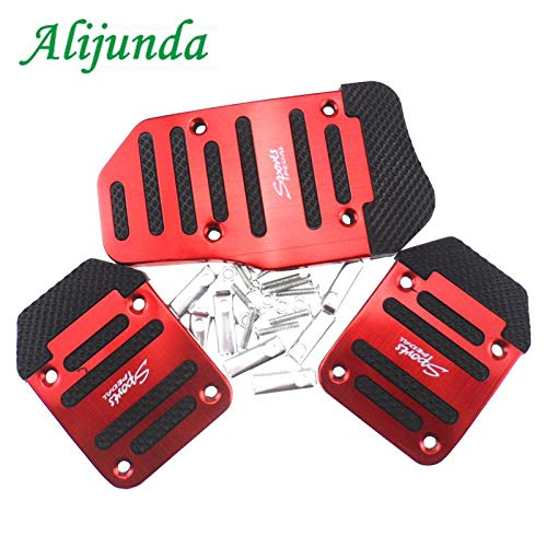 Amazon.com: Aluminum Auto Parts Air Brake Pedal Pedi Styling Sticker Cover for Citroen Peugeot 206 207 208 301 307 308 407 2008 3008: Kitchen & Dining