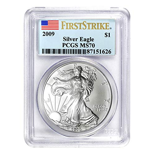 2009 American Silver Eagle First Strike $1 MS-70 PCGS