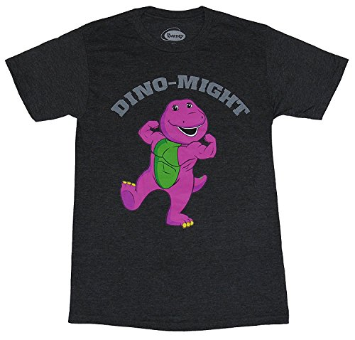 Gao-Tshirt Dino-Might Buff Barney The Dinosaur - Barney And Friends Clothes