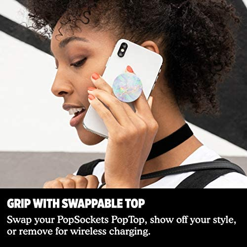PopSockets: PopGrip with Swappable Top for Phones & Tablets – Opal 51qIN56mexL