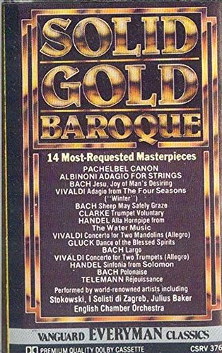 Solid Gold Baroque - 14 Most Requested Masterpieces Cassette Tape - Other Baroque Masterpieces