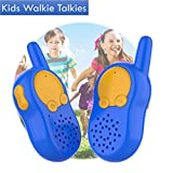 Toddler Walkie Talkies For Kids Grip Belt, Radio Communication Children Long Range Toys, Camping Outdoor Product Kids Fun Toys, Simple Easy Digital Radio Kids Fun Packs, Kids Activity Packs Boys, Durable Spy Kit Gears, Electronics Boys Kids Tool Belt Toys For Boys Children Toddler Gifts 2 Year Old Boy, Children Toys for 4 5 6 7 8 9 Year Old, Birthday Science Gift For Kids (Blue)