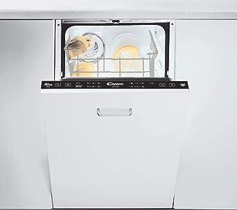 Laden CANDY CDI 1L949 Lavastoviglie da Incasso Slim 45 cm Capacità 9  Coperti, Classe Energetica A+, Bianco