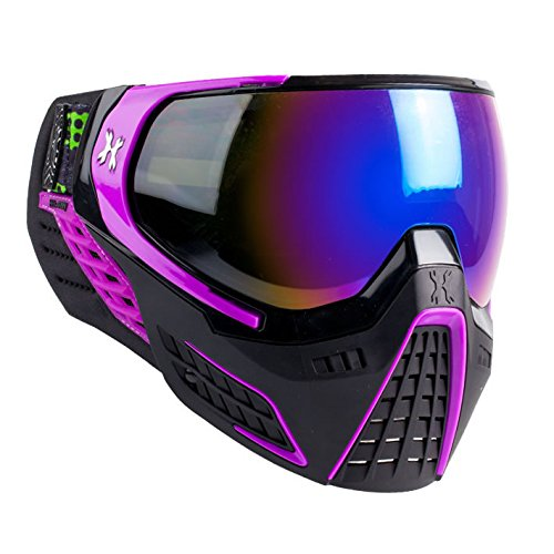 HK Army Paintball KLR Thermal Anti-Fog Mask / Goggles (Argon (Black/Purple - Cobalt Lens)) ()