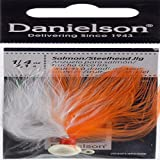 Danielson Steelhead Jig Fishing Equipment, 1/4 oz, Peach
