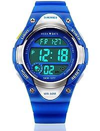 My-Watch Boys Sport Digital Watch Kids Outdoor Waterproof...