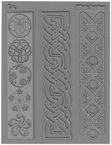 Lisa Pavelka 527061 Texture Stamp Ethnic Borders by JHB International Inc