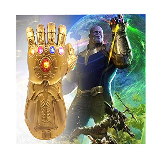 Infinity Gauntlet LED Light PVC Gloves Gift Toy