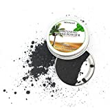 Teeth Whitening Powder Natural Organic Activated Charcoal Bamboo Toothpaste Coconut Charcoal by Todaies (15g, Black)