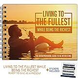 The Classy Entrepreneur Purpose Books - Motivational Self Improvement Gifts For Men - Unique Inspirational Self Motivation Tips for Businessmen and Entrepreneurs! Great Present for Boss or Award