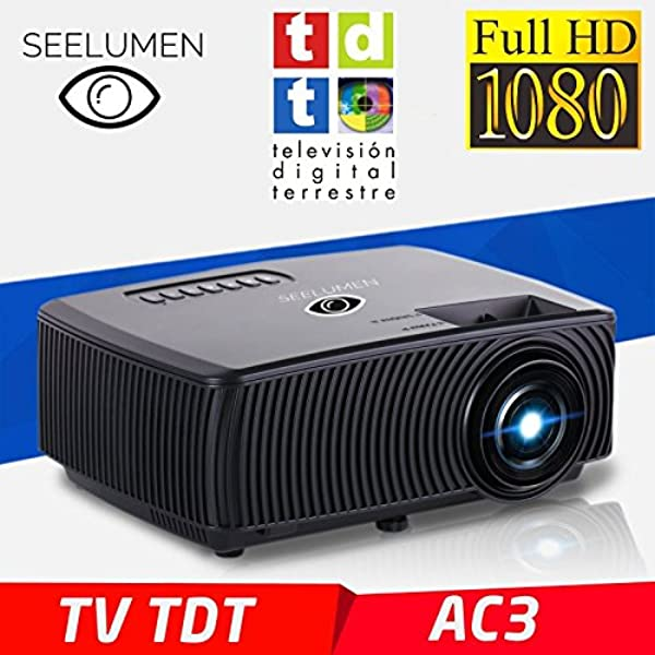 Proyector Unicview HD200, Video Proyector 1080P Full HD, con ...