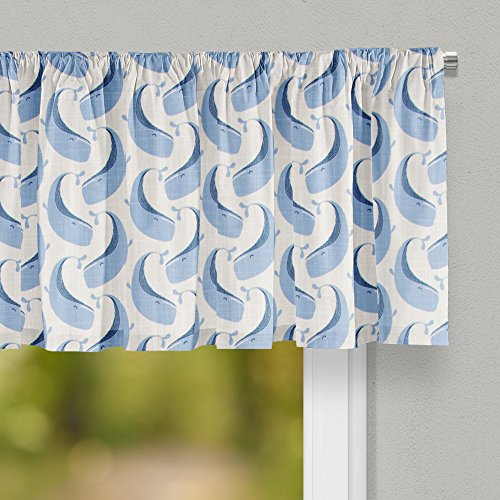 (Glenna Jean Whale of a Time Curtain Valance 70