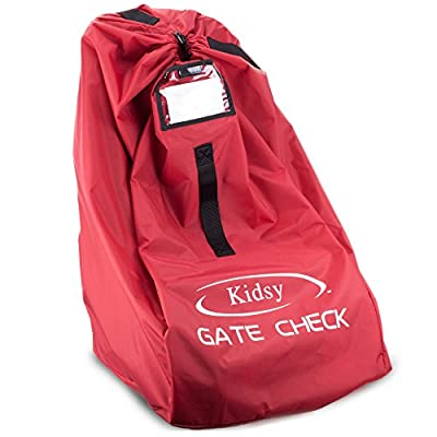 Car Seat Travel Bag By Kidsy: Best Gate Check Bag For Air Travel Carry Your Child's Car Seat Or Stroller Without Struggling - Premium Quality,Ballistic Nylon For Extra Durability by Kidsy that we recomend individually.