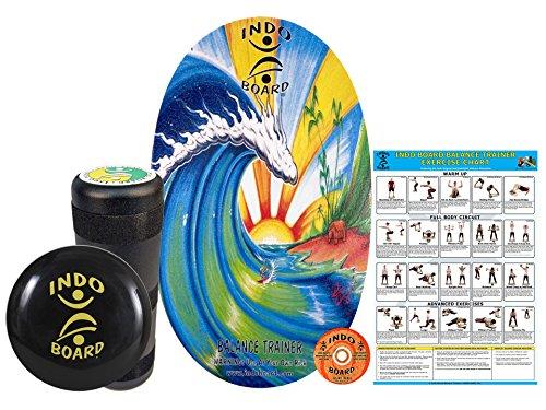 INDO BOARD Original Training Package Balance Board- Includes