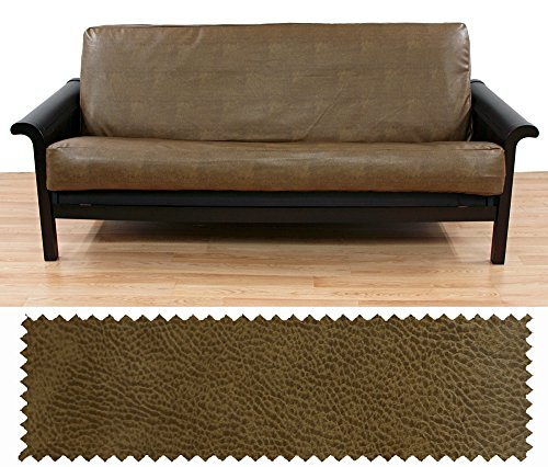 - Faux Leather Rawhide Full Futon Cover 223