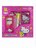 Hello Kitty School Utensil Kit - Hello Kitty stationery Pencil and Pen Set - Best Reviews Guide