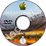 #1: MacOS Mac OS X 10.13 High Sierra DVD Disc Disk Full Install Installer Update Upgrade Recover Restore Backup