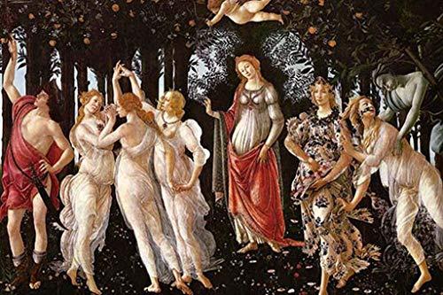 ArtParisienne Spring Primavera Sandro Botticelli 12x18-inch Canvas Print