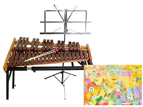 最安値で  コオロギ 高級卓上木琴 シロフォン 高級卓上木琴 ECO32 スタンド&譜面台 ECO32 コオロギ 曲集セット B00W4V2XDA, 日和佐町:2840b1b9 --- a0267596.xsph.ru