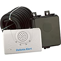 Dakota Alert 2500 Wireless Vehicle Sensor, White Black (DCRH-2500)