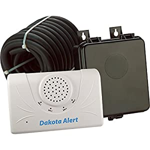 6. Dakota Alert 2500 Wireless Rubber Hose Vehicle Sensor, White Black (DCRH-2500)