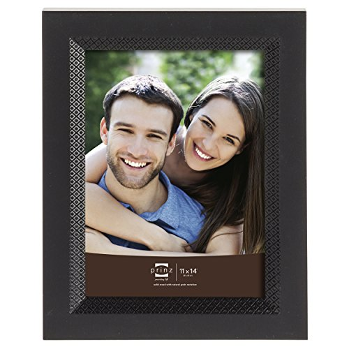 Prinz Monterey Wood Frame with Embossed Diamond Pattern, 11