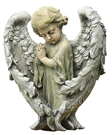amazon com napco baby angel with wings statue 11 1 2 inch tall