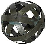 Metal Ball Sphere Decorative,(Coffee Table, Accent, Bowl)   by Urban Legacy (4 inch)