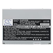 Pearanett 5400mAh / 58.32Wh Replacement Battery for Apple PowerBook G4 17 M9462