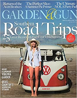 garden and gun magazine junejuly 2016 southern road trips amazoncom books - Garden And Gun Magazine