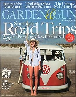 Garden And Gun Magazine (June/July, 2016) Southern Road Trips: Amazon.com:  Books