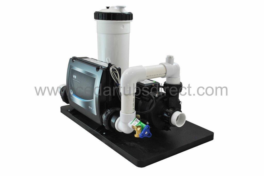 Balboa Circ Spa System - 1/4 HP Circulation Pump, 5.5 Kw Heater, 50 ft