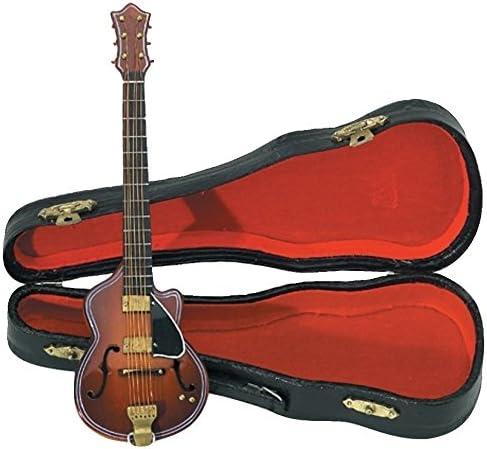 GEWA 980650 - Instrumentos en miniatura, guitarra con estuche, 20 cm: Amazon.es: Instrumentos musicales