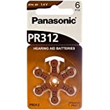 Panasonic Hearing Aid Batteries Size 312, 60pcs with 2 AAA Alkaline Batteries