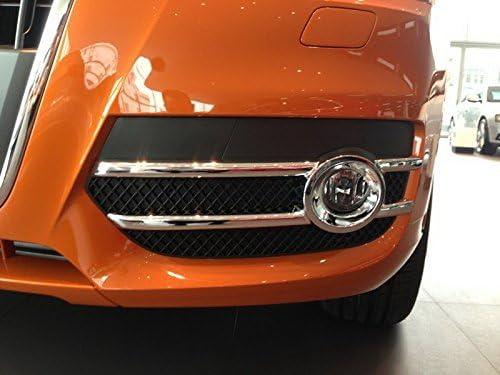 ABS Chrom/é arri/ère Garniture d/écorative Housse de phare antibrouillard 2 pcs pour accessoire de voiture ADQ3