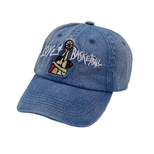 FGSS Unisex Love Basketball Embroidered Adjustable Strapback Dad Hat Baseball - Embroidered Basketball Hat