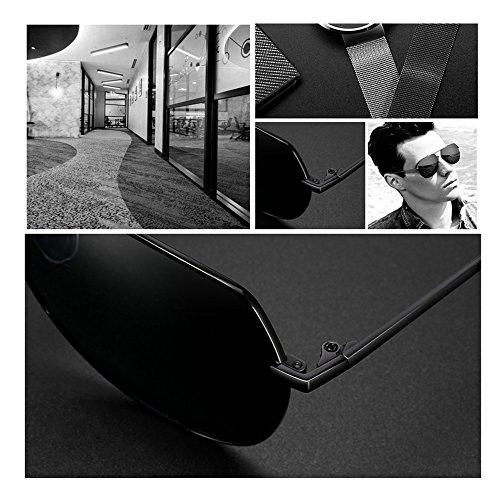 Soleil De Lunettes Noir Lunettes UV Lunettes TESITE Hommes PolariséEs 100 Protection De UEZxqw