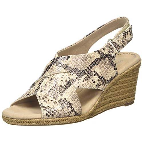 chollos oferta descuentos barato Clarks Lafley Alaine Zapatos de Talón Abierto para Mujer Gris Taupe Taupe 37 5 EU