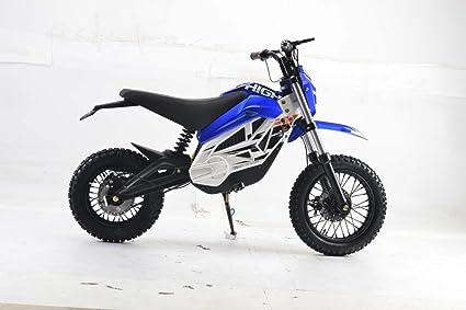 Bicicleta eléctrica para niños de 800 W, 36 V, altura del asiento ...