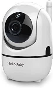HelloBaby Extra Camera for Video Baby Monitor, Baby Unit Add-on Camera for HB65 and HB248, Not Compatible with HB66 HB32 Video Baby Monitor