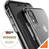 Best Review Gear4 Piccadilly Clear Case With Advanced Impact Protection Protected By D3o Slim Tough Design For Iphone Xr Black