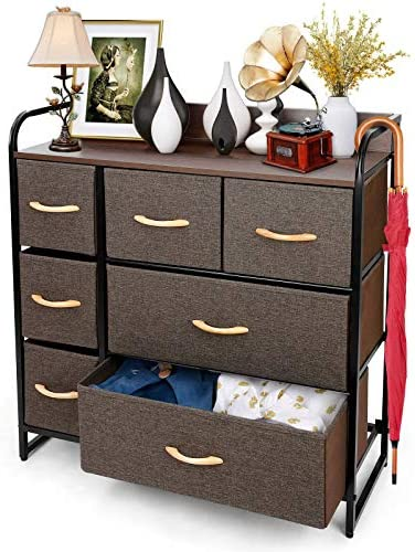 TUSY 7 Drawer Dresser Storage Tower