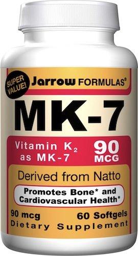 Jarrow Formulas MK-7 (vitamine K2), 60 gélules
