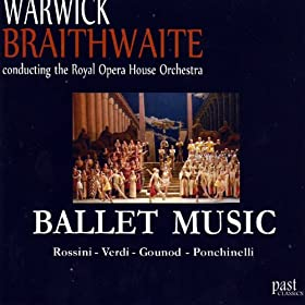 Ballet music warwick braithwaite the royal for Orchestral house music