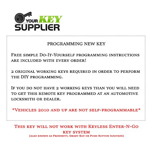 Remote Store Chrysler Town & Country Keyless Entry Remote Start Fob Replacement FCC: IYZ-C01C