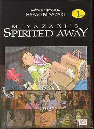 spirited away vol 1 hayao miyazaki 0782009098133 amazon com books